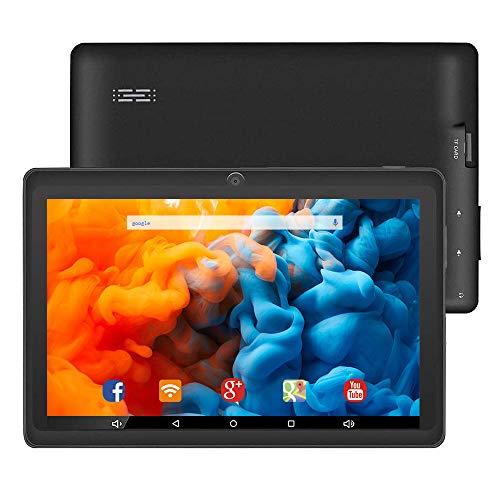 最新Android10.0タブレット 7インチタブレットWiFiモーデル クアッドコア1024*600 IPSディスプレイ ROM16GB 128GのmicroSDカードサポート プレゼント 目に優しい 大人*老人*子供に適当 Bluetooth日本語マニュアル付き 一年保証