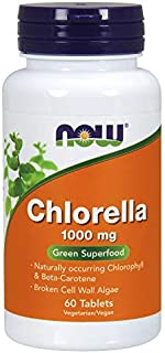 NOW Foods - Chlorella 1000 mg. - 60 Tablets