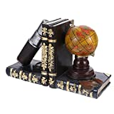 Milisten Telescopio Y Globo Sujetadores Vintage Pirata Antiguo Mundo...