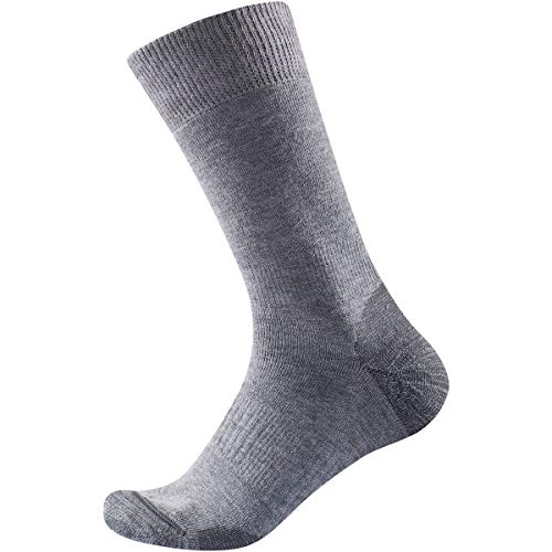 Devold Multi Heavy Woman Socks Grau, Damen Merino Socken, Größe 38-40 - Farbe Dark Grey
