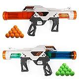 Proiettili Morbidi Pistola giocattolo, 2pcs Dual Battle Pack, pistole ad aria compressa pe...