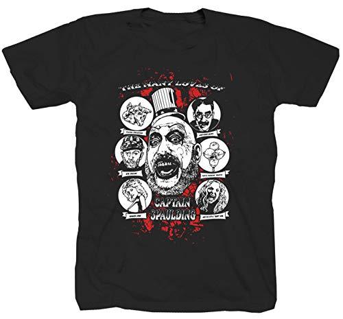 Haus der 1000 Leichen Horror Film schwarz T-Shirt (3XL)