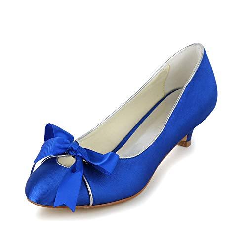 JIAJIA 0119 De Las Mujeres Zapatos de Novia Dedo del pie Cerrado...