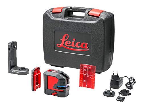 Leica Lino L2 - Kreuzlinienlaser mit Li-Ion Akku und innovativem magnetischen Adapter