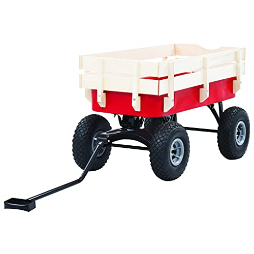 LUYIPINGQIWND Färg: Röd och vit rullvagn säckkärra handvagn 150 kg röd