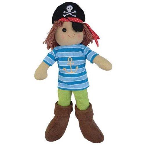 Powell Craft-Pirata muñeca de trapo-40cm