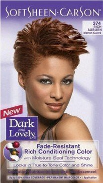 DARK AND LOVELY - Coloration Cheveux 374 Rich Auburn