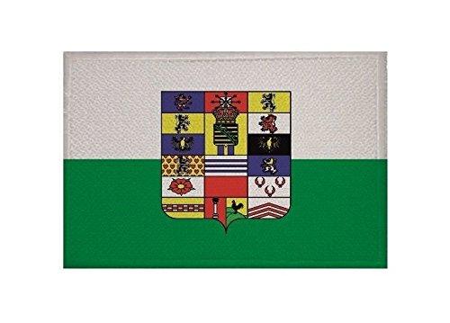 U24 Aufnäher Sachsen-Hildburghausen bis 1825 Fahne Flagge Aufbügler Patch 9 x 6 cm