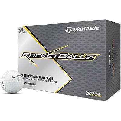 TaylorMade TM19 Rocketballz ddz - Pelota de Golf Unisex (Talla única), Color Blanco