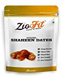 Ziofit Golden Shaheen Dried Dates, 500gm (Pack of 2)