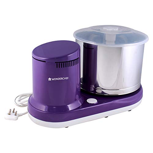 Wonderchef Maxima 150-Watt Table Top Wet Grinder with Coconut Scrapper and Atta Kneader Attachment...