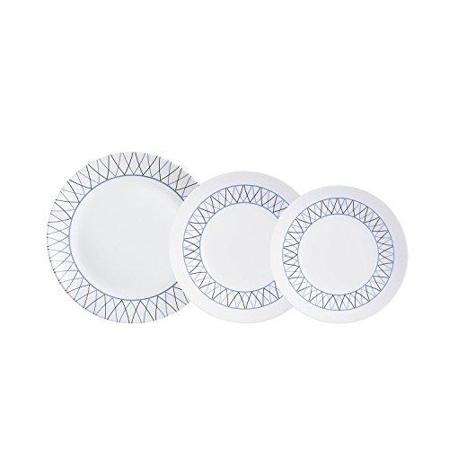 Arcopal - Vajilla con 18 Piezas, Blanco