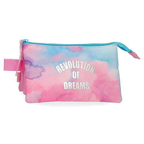 Movom Revolution Dreams Estuche Triple Multicolor 22x12x5 cms Poliéster