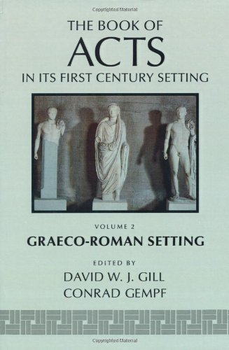 The Book of Acts in Its Graeco-R...