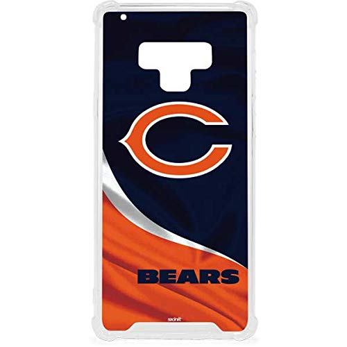 Skinit Clear Phone Case for Galaxy Note 9 - Officially Licensed NFL Chicago Bears Design