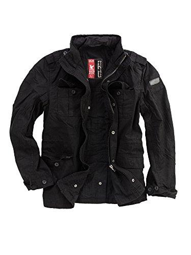 Surplus Delta Industries Herren Britannia Jacket, schwarz, Groesse S