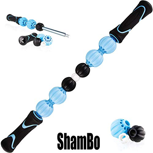 Buy Bargain Chameleon Changeable Massage Stick Muscle Roller - Adjust The Rollers to Your Unique Leg...