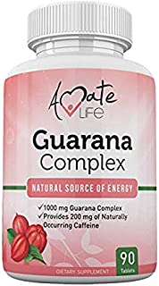 Guarana Complex - Guarana Complex Energizer - Caffeine Energizing Supplement - Natural Source of Energy - I...