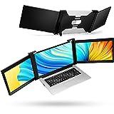 Portable Triple Monitor Laptop Workstation External Monitor for Laptop USB C...