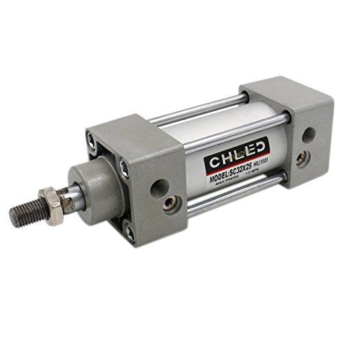 Heschen Pneumatische Standaard Cilinder SC 32-25 PT1/8 poort 32 mm (1 1/4 inch) Boor 25 mm (1 inch) Stroke Enkele staaf Dubbele actie