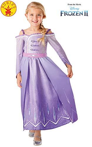 Rubie's 300460 7-8 Disney Die Eiskönigin 2 Kostüme, Mädchen, mehrfarbig
