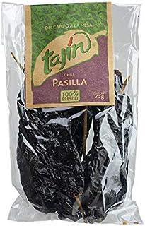 Getrocknete Pasilla-Chilis, Pack 75g - Chili Pasilla Seco TAJÍN 75g