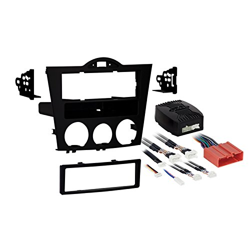 Metra 99-7510 Single DIN Installation Package for 2004-2008 Mazda RX-8 Vehicles (Black)