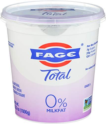 FAGE TOTAL, 0% Plain Greek Yogurt, 35.3 oz