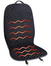 Aoomiya シートヒーター 車 ホットカーシート DC12V/24V兼用 3段階温度調整 速暖 電気座布団 ヒーター 後付け 運転席用 座席ヒートクッション カーヒーター 滑り止め 取付簡単