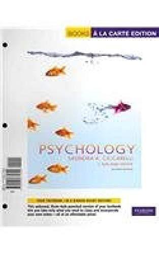 Psychology: An Exploration (Books a la Carte)