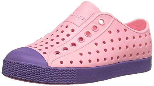 Native Jefferson Sneaker zum Reinschlüpfen, - Prinzessin Pink Haze Violett - Größe: C4