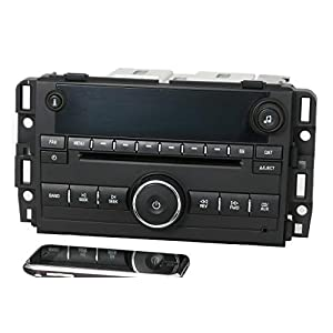 Factory Radio AM FM CD w Bluetooth Radio Compatible with 2007-13 Chevy GMC Truck Van 25941137 (Renewed)