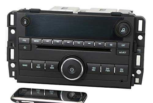 Factory Radio AM FM CD w Bluetooth Radio Compatible with 2007-13 Chevy GMC Truck Van 25941137 (Renewed) 3