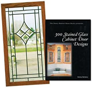 Amazon Com 300 Stained Glass Cabinet Door Designs Kitchen Dining