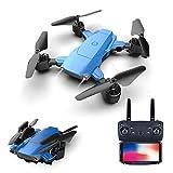 XUMU Drone Pieghevole 4K con videocamera HD WiFi 1080P Doppia Fotocamera Seguimi Quadcopter FPV...