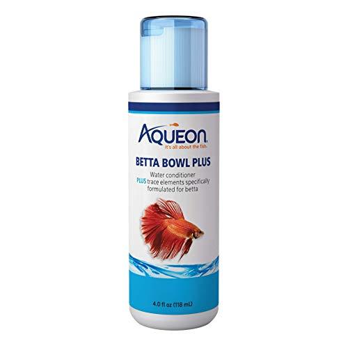 Aqueon Betta Bowl Plus Aquarium Tap Water Conditioner, 4-Ounce