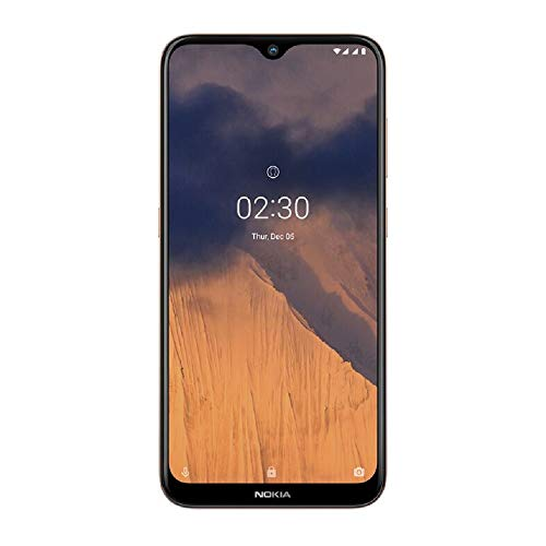 Nokia 2.3 Smartphone 6.2 Inch Android 2 GB RAM 32 GB (Dual-SIM) UK – Sand