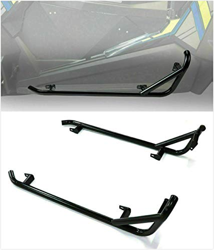Meyffon Nerf Bars Rock Sliders for 2014-2020 Polaris RZR 900 1000 XP Turbo 2 Doors Side Nerf Bars,Pair