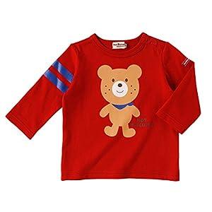 ミキハウス ホットビスケッツ(MIKIHOUSE HOT BISCUITS)Tシャツ 73-5209-783 80cm 赤