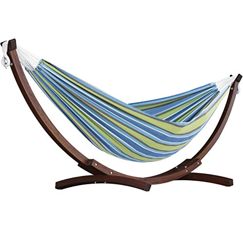 Vivere Hammock With Wooden Stand