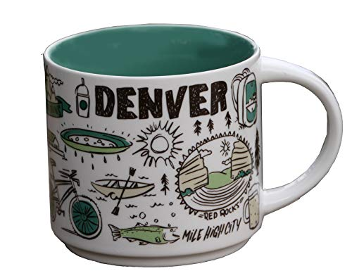 Starbucks Been There Serie Denver Becher