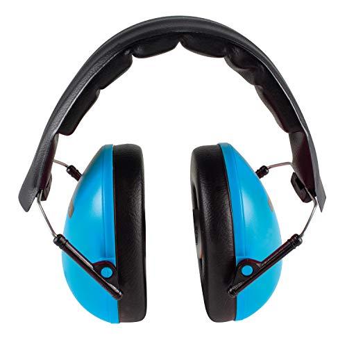 Stylex 42300 - Gehörschutz SX-4230 Stilles Lernen in blau, variabel verstellbar, faltbar, gepolsterte Kopfbügel, Kopfhörer für Kinder ab 6 Jahre, ideal beim Lernen und für Schule, Konzerte und Stadion
