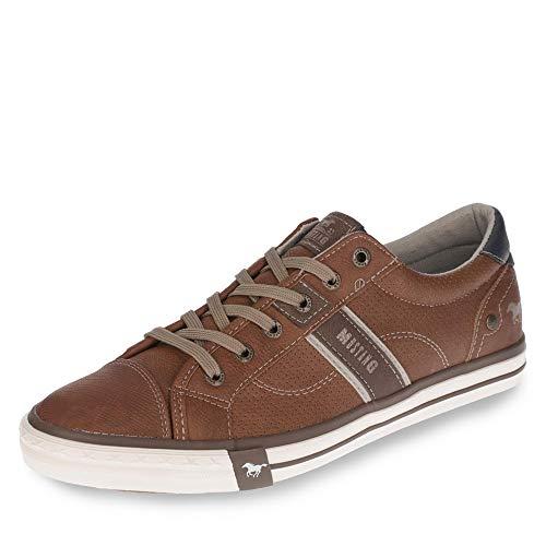 MUSTANG Herren 4072-301-307 Sneakers, Braun (307 Cognac), 41 EU