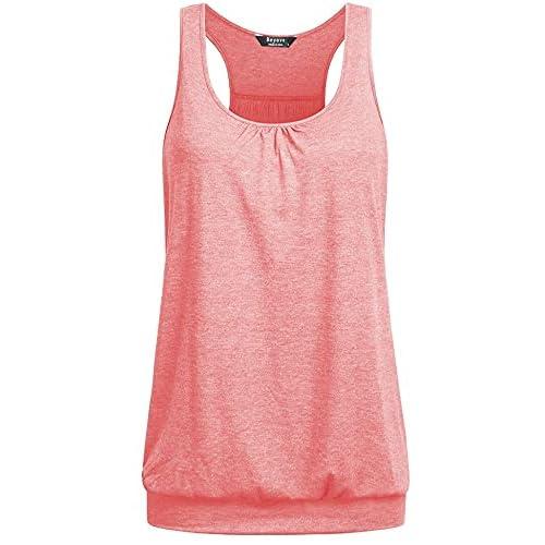 UNibelle Camisetas sin Mangas de Fitness Deportiva de Tirantes para Mujer Yoga Pilates Running S-XXL a buen precio