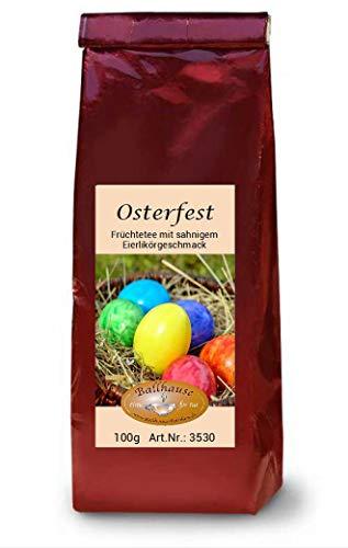 Osterfest, 100g Eierlikör-Früchtetee, Ostertee, Frühlingsmischung