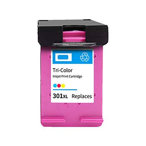 Cartuchos de tinta 301XL 301 XL (negro, tricolor), reemplazo para HP Envy 4500 4504 5532 5530 Deskjet 2540 2544 3050 3050A 3055A 4630 4634 Impresoras-Color