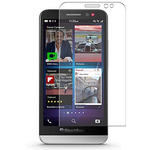 Vaxson 4 Stück Schutzfolie, kompatibel mit Blackberry Z30, Bildschirmschutzfolie TPU Folie Displayschutz [nicht Panzerglas Hülle Hülle ]