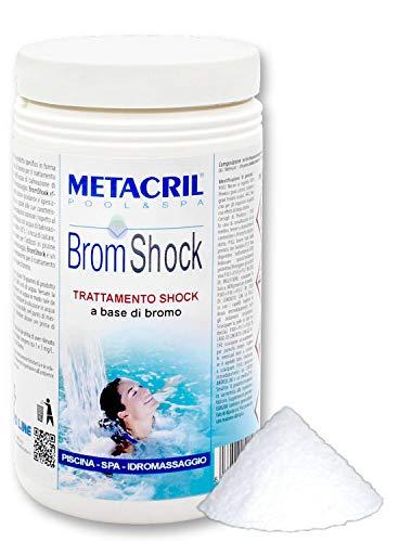 Metacril Bromo Shock granular - Brom Shock 1,5 kg. Ideal para Piscinas y spas de hidromasaje (Teuco, Jacuzzi, Dimhora, Intex,Bestway,ECC). - Envío inmediato