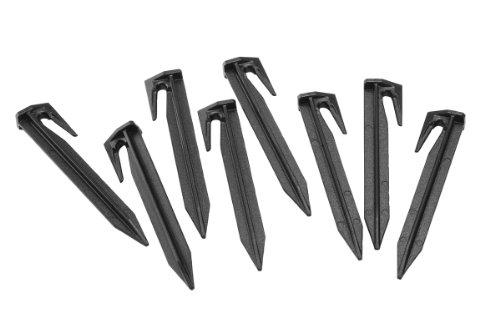 Gardena Haken: Mähroboter-Zubehör, Set aus 100 Haken zur Befestigung von Begrenzungs- und Suchkabel, Haken fungieren als Kabel-Halter, einfache Befestigung, für Artikel 4071 und 4072 (4090-20)