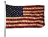 Best American Flag 3x5 Outdoors - Homissor Tea Stained American Flag - 3x5 Outdoor Review